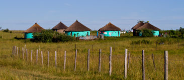 Rural housing. In South Africa Royalty Free Stock Image