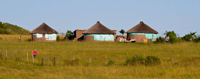Rural housing. In South Africa Stock Photography