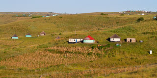Rural housing. In South Africa Stock Image