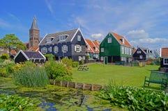 A rural idyll. In Marken, Noord – Holland Stock Image