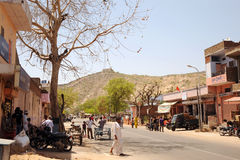 Rural India. Jaipur. Stock Image