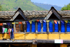 Rural indian house in northern india Stock Photos