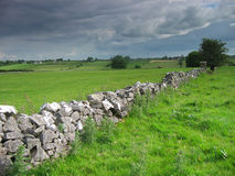 Rural ireland. Irish countryside- grey sky stock photos