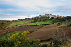 Rural italian landscape Stock Images