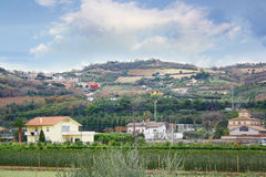 Rural Italian landscape Stock Photo