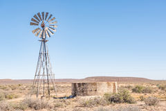Rural Karoo scene Stock Photography