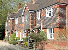 Rural kent cottages Stock Photos