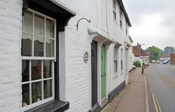 Rural kent village high street Stock Image