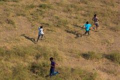 Rural kids Royalty Free Stock Image