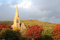 Rural Kirk Stock Photography