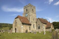 rural kościoła Obrazy Stock