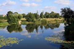 Rural lake Royalty Free Stock Image