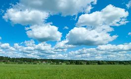 Rural landscape. Royalty Free Stock Image