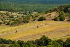 Rural landscape. Idillic rural landscape in summer.Moldova Royalty Free Stock Images