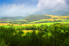 Rural landscape Royalty Free Stock Image