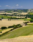 Summer landscape in Marches Italy near Ostra Royalty Free Stock Photography