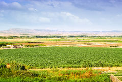 Rural landscape in Aragon, Spain Stock Photography