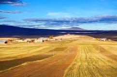 Rural landscape in Armenia Stock Images