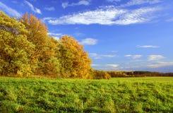 Rural landscape in autumn Stock Photos