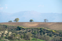 Rural landscape in Calabria region of Italy Royalty Free Stock Photography