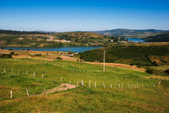 Rural landscape. Of Cantabria, Spain Royalty Free Stock Images