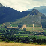 Rural landscape, Capetown province (South Africa) Stock Image