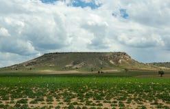 Rural landscape in Cappadocia, Turkey Stock Photography