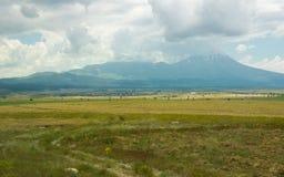 Rural landscape in Cappadocia, Turkey Stock Images