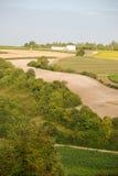 Landscape in Charentes. A Rural landscape in Charentes Stock Image