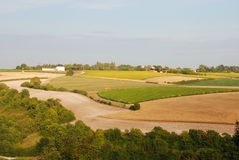 Rural landscape in Charentes Royalty Free Stock Image