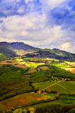 Rural landscape of Chianti, Tuscany. Royalty Free Stock Image