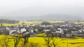 Rural landscape in China Royalty Free Stock Photos