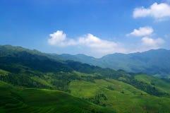 Rural landscape China stock photo