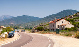 Rural landscape of Corsica island in summer Royalty Free Stock Image