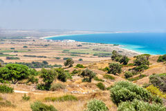 Rural landscape on Cyprus Stock Photos