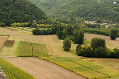 Rural Landscape Dordogne France stock images