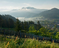 Rural landscape at early morning Royalty Free Stock Images