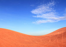 Rural Landscape  Earth with a Beautiful Blue Sky Stock Photography