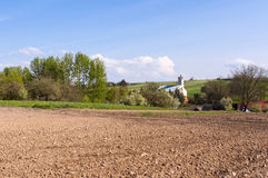 Rural Landscape Eastern Poland Stock Photography