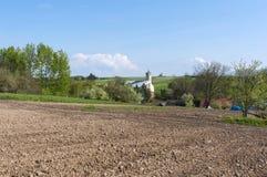 Rural Landscape Eastern Poland Stock Image