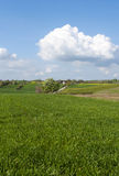 Rural Landscape Eastern Poland Stock Photo