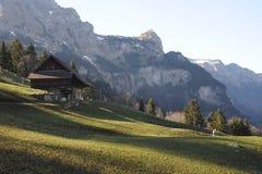 Rural landscape at Engelberg Royalty Free Stock Photo