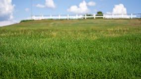 Rural landscape farm Stock Photo