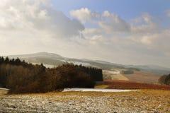 Rural Landscape in Bohemian Paradise. Rural Landscape form Kumburk, Bohemian Paradise in Czech republic royalty free stock image