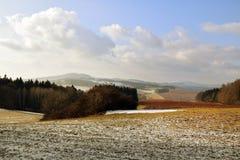 Rural Landscape in Bohemian Paradise. Rural Landscape form Kumburk, Bohemian Paradise in Czech republic royalty free stock photos