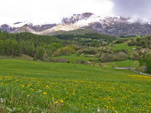Rural landscape in France Royalty Free Stock Image