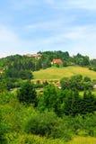 Rural landscape in France Stock Photos