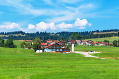 Rural landscape in Germany Royalty Free Stock Photos