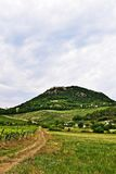 Rural landscape in Hungary near Balaton royalty free stock photography