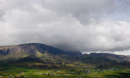 Rural landscape on the Isle of Skye royalty free stock photography